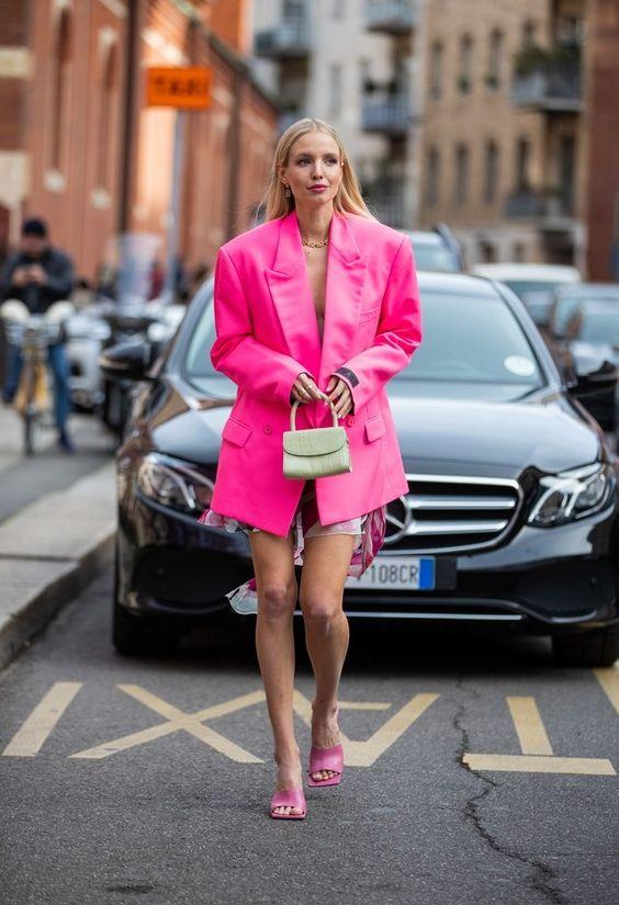 total look rosa