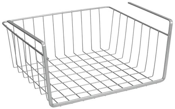 cesta de metal para el armario