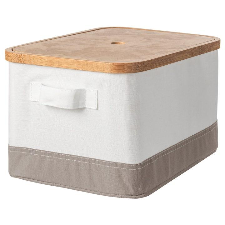 caja de almacenaje para el armario