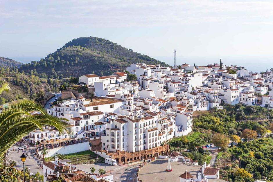 pueblos más bonitos en Málaga