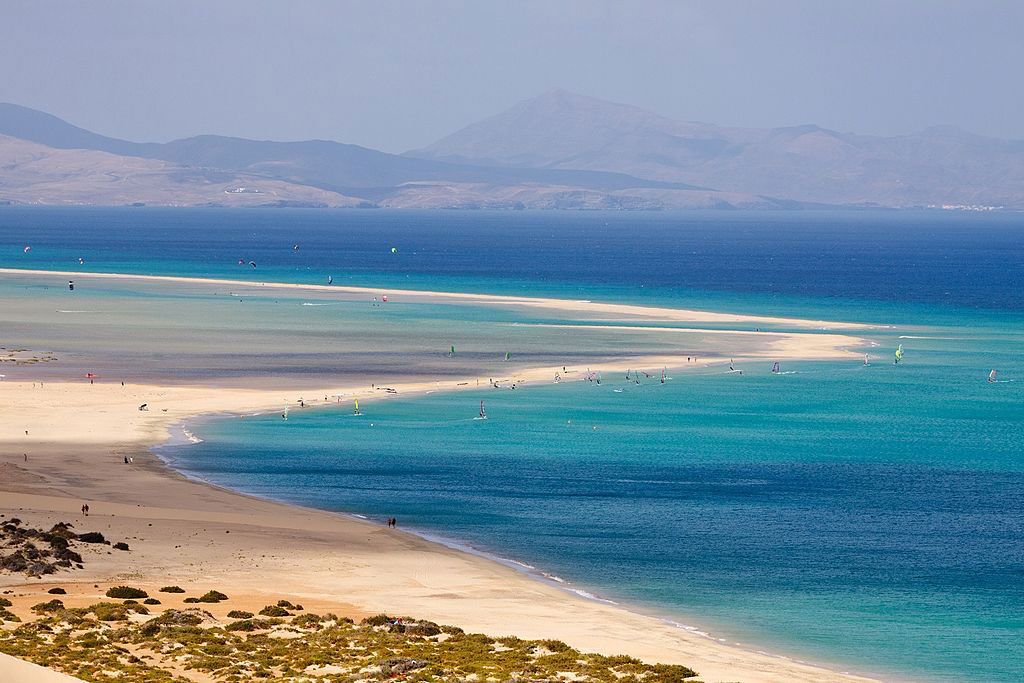 paisajes naturales en fuerteventura