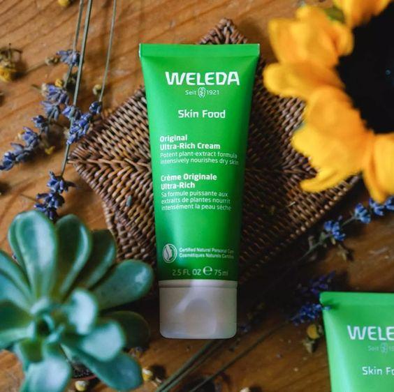 cremas multiusos skin food weleda
