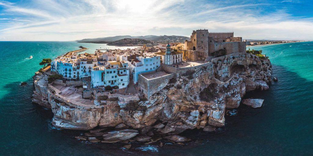 pueblos más bonitos en Mediterráneo Peñiscola