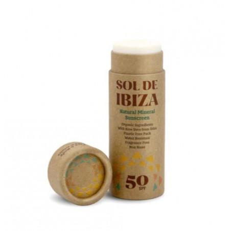 Crema solar en stick sol de ibiza